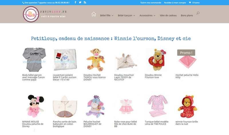 Un doudou Winnie l'ourson pour la naissance de bébé ?