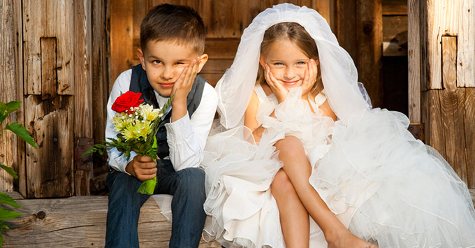 robe mariage pour enfant