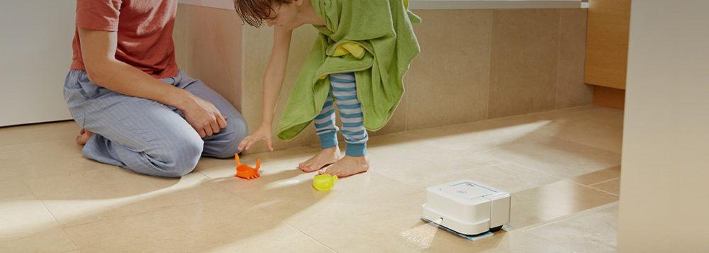 robot domestique aspirateur laveur