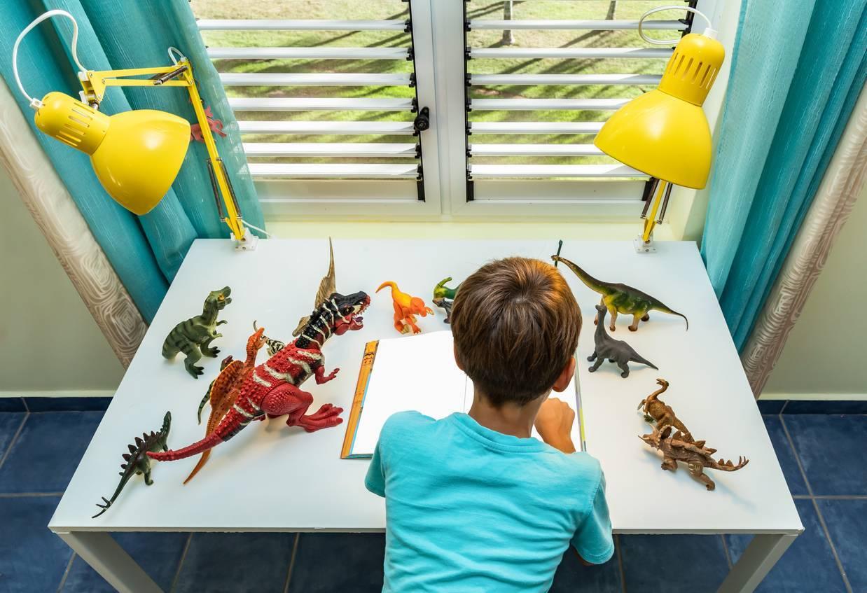 amenager dinosaure enfant